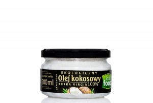OLEJ KOKOSOWY EXTRA VIRGIN LOOK FOOD 200ml