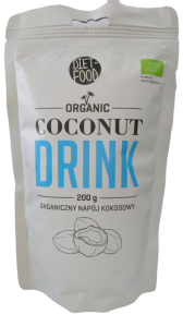 BIO COCONUT DRINK BIO NAPÓJ KOKOSOWY 200G DIET FOOD