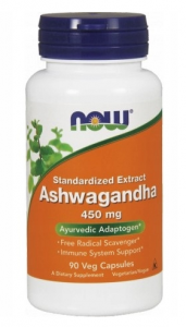 NOW FOODS ASHWAGANDHA EXTRACT 450 MG 90K ADAPTOGEN