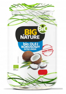 OLEJ KOKOSOWY BIG NATURE BIO EXTRA VIRGIN 480 ML