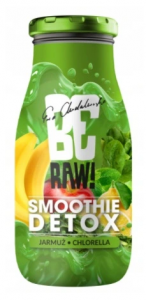 BeRaw SMOOTHIE DETOX JARMUŻ CHLORELLA 250 ML NFC