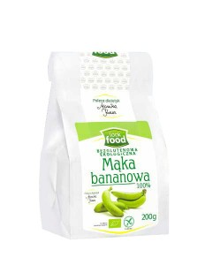 MĄKA BANANOWA 200 G LOOK FOOD